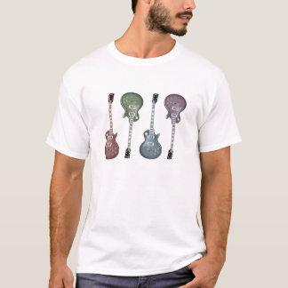 Het grafische ontwerp van de gitaar t shirt