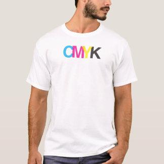 Het Grafische Ontwerp van de Illustrator CMYK T Shirt