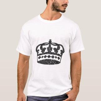 Het grafische ontwerp van de kroon t shirt