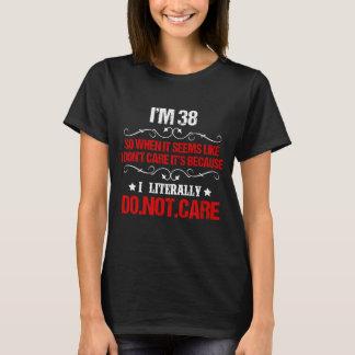 Het grappige 38ste Kostuum van de Verjaardag voor T Shirt