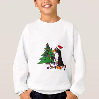 Het grappige Art. van de Pinguïn van Kerstmis Trui