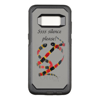 Het grappige Art. van de Slang van het Koraal van OtterBox Commuter Samsung Galaxy S8 Hoesje