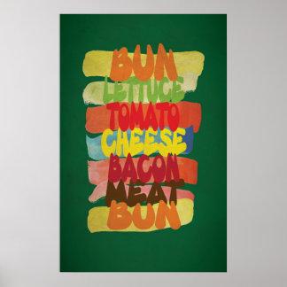 Het grappige Art. van de Typografie van de Poster