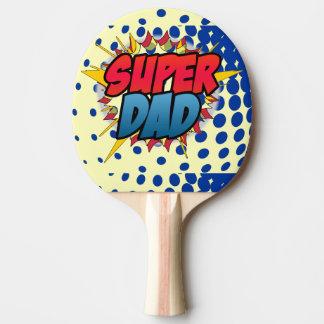 Het grappige Boek inspireerde Super Papa Tafeltennis Bat