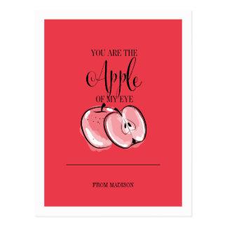 Het grappige Briefkaart van Apple Valentijn van de