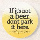 Het grappige Citaat van het Bier - maak het van u  Drinken Onderzetter