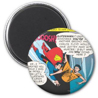 Het Grappige Comité van de superman - Duiken Lois Koelkast Magneet