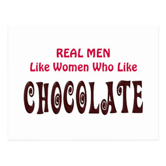 Het grappige Echte Man houdt van Who van Vrouwen Briefkaart