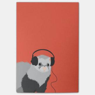 Het grappige Fret van de Minnaar van de Muziek Post-it® Notes