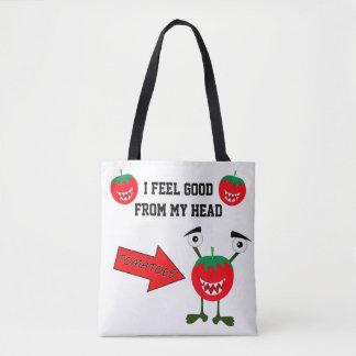 Het grappige fruit van het tomatenmonster met draagtas