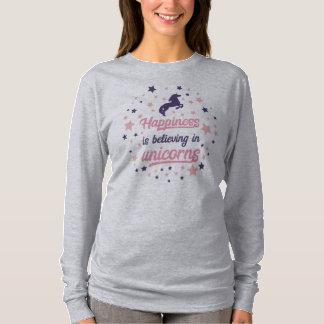 Het grappige Geluk gelooft in het Overhemd van de T Shirt