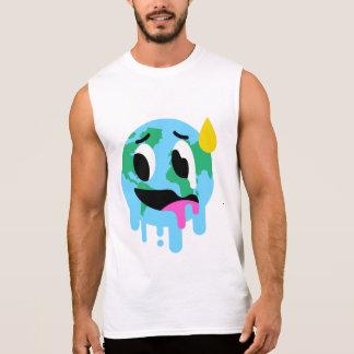 Het Grappige Globale Verwarmende Mouwloos T Shirt