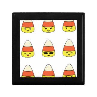 Het grappige Graan Emoji van het Snoep Decoratiedoosje