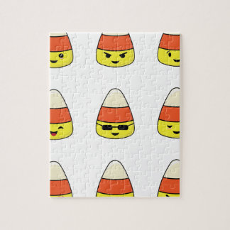 Het grappige Graan Emoji van het Snoep Legpuzzel