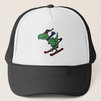 Het grappige Groene Ski?en van de Dinosaurus Trex Trucker Pet