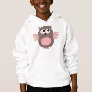 Het grappige het staren Sweatshirt met een kap van