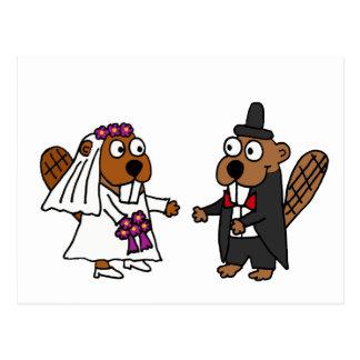 Het grappige Huwelijk van de Bruid en van de Briefkaart