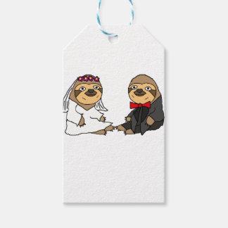 Het grappige Huwelijk van de Bruid en van de Cadeaulabel