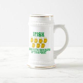 Het grappige Ierse Drink Bierpul