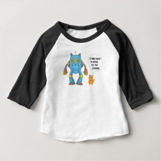 Het grappige Katachtige Katje van de Wetenschap en Baby T Shirts