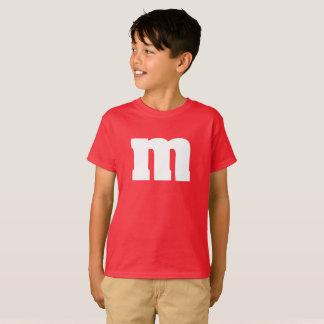 Het grappige kinder overhemd van M en van het T Shirt