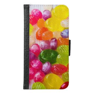 Het grappige Kleurrijke Zoete Afbeelding van de Samsung Galaxy S6 Portemonnee Hoesje