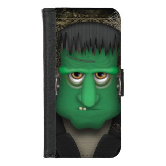 Het grappige Kostuum van Frankenstein Halloween iPhone 8/7 Portemonnee Hoesje