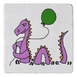 Het grappige Loch Monster van Ness met Ballon Trivet