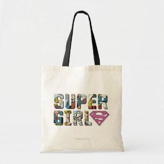 Het Grappige Logo van Supergirl Budget Draagtas