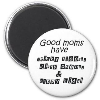 Het grappige mamma van de ijskastmagneet citeert magneet