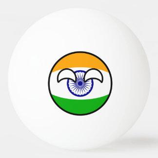 Het grappige Neigen Geeky India Countryball Pingpongbal