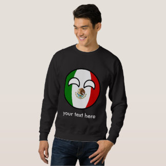 Het grappige Neigen Geeky Mexico Countryball Trui