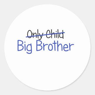Het grappige Ontwerp van de Grote Broer Ronde Stickers