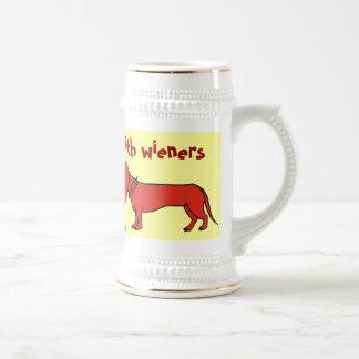Het grappige ontwerp van de het biermok van de bierpul