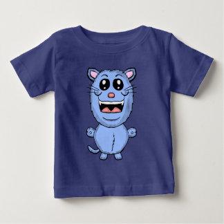 Het grappige Overhemd van de Kat van de Cartoon Baby T Shirts