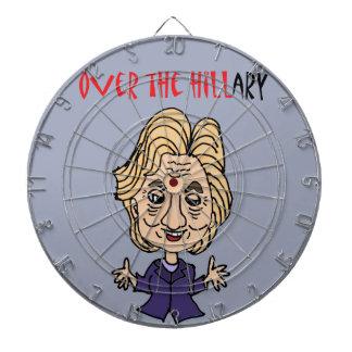 Het grappige Politieke Art. van AntiHillary Dartbord
