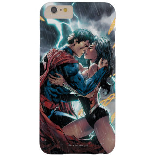 Het Grappige PromotieArt. van de superman/Wonder Barely There iPhone 6 Plus Hoesje