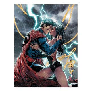 Het Grappige PromotieArt. van de superman/Wonder Briefkaart