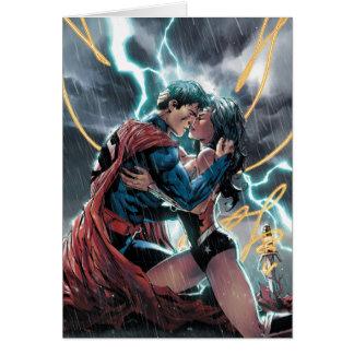 Het Grappige PromotieArt. van de superman/Wonder Briefkaarten 0