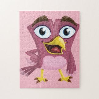 Het grappige Raadsel van de Foto van de Vogel Puzzel