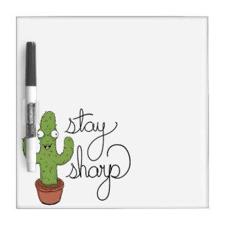 Het grappige Scherpe Verblijf van de Cactus Whiteboards