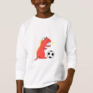 Het grappige Sleeve van het Voetbal van de T Shirt
