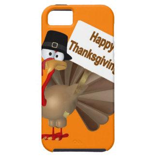 """Het grappige spreuk van Turkije: """"Gelukkige Tough iPhone 5 Hoesje"""