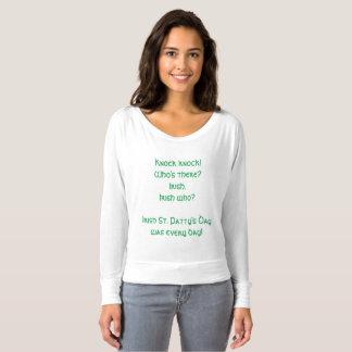Het grappige St. Patrick Overhemd van de Grap van Longsleeve