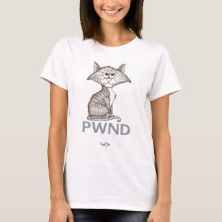 Het grappige T-shirt van de Vrouwen van de Kat