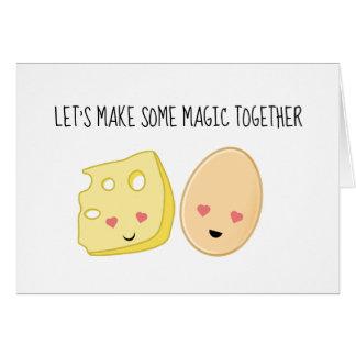Het grappige Valentijnse Wenskaart van de Omelet