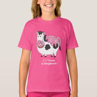 Het grappige Vette Eten van de Koe van Holstein T Shirt