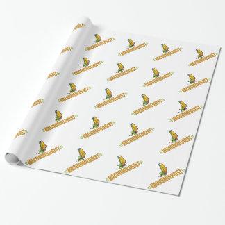 Het grappige Zuigen Inpakpapier