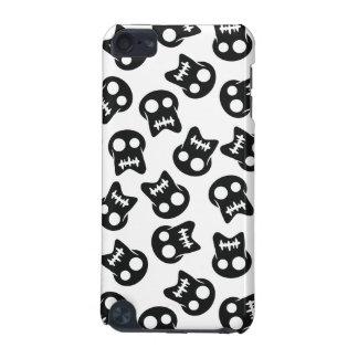 Het grappige zwarte patroon van de Schedel iPod Touch 5G Hoesje