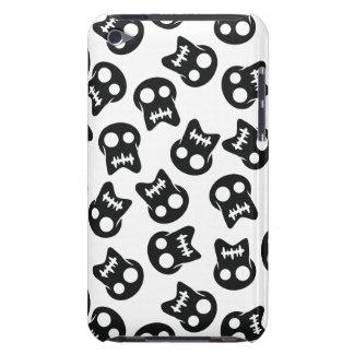 Het grappige zwarte patroon van de Schedel iPod Touch Hoesje